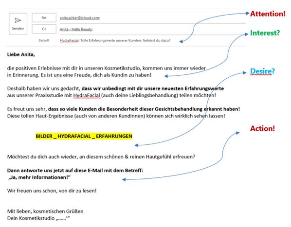 HELLO BEAUTY Marketing GmbH - Tipps für einen erfolgreichen Kosmetik-Newsletter, der von Kunden gelesen wird! - Weil interessante Newsletter-Inhalte NICHT im Spam-Ordner landen, sondern gelesen und gemerkt werden! Wie geht es dir, wenn dich wieder eine riesige E-Mail-Flut mit Rabatten und Sonderangeboten aus deinem E-Mail-Postfach anspringt? Damit dein Newsletter nicht zur nervigen Spam-Post wird, solltest du unbedingt deinen Schreibstil an die Bedürfnisse deiner Zielgruppe anpassen und regelmäßig Mehrwert liefern.